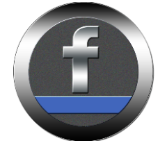 Washing machine facebook icon.