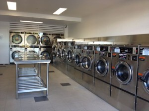 State of the art laundry equipment